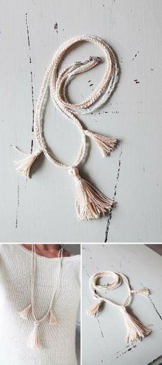 Blog | Perle di cotone: jewelry