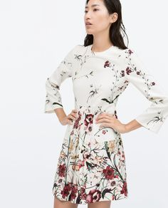 Celebrate spring with a floral printed dress.
