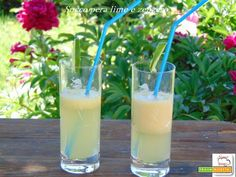 Succo di pera lime e zenzero  #ricette #food #recipes
