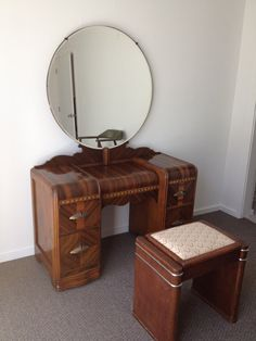 1930's Art Deco Waterfall Bedroom Furniture  6 by amodpod2012, $900.00