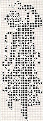 Вышивка монохром / вышивка, схема вышивки, крест, вышивка крестиком