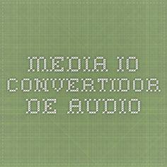 media.io Convertidor de audio