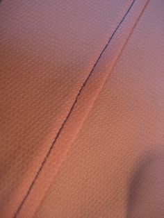sew a straight line: Flat-felled Seam
