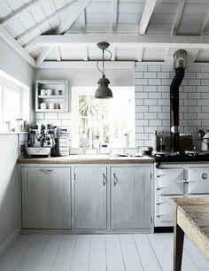 10 amazing rustic Scandinavian kitchens | My Cosy Retreat