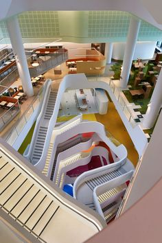 A Working Work Of Art Hassell Transforms Office Life For Melbournes Medibank