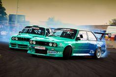 European Drift Series - Twin E30s