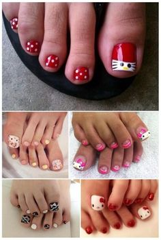 Pretty Toe Nails, Cute Toe Nails, Gel Nails, Toe Nail Color, Toe Nail Art, Nail Colors, Long Acrylic Nails, Long Nails, Toenail Art Designs