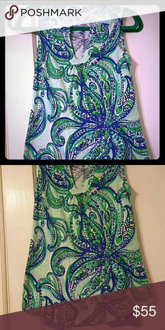 Keep it current Marlowe top Euc. Worn once. Lilly Pulitzer Tops