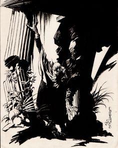 Comic Art For Sale from RomitaMan Original Art, Bernie Wrightson: A Look Back (THE DEMON) 1970 by Comic Artist(s) Bernie Wrightson