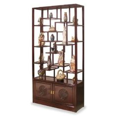 Rosewood Ming Curio Cabinet