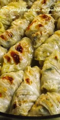 Greek Recipes, Meat Recipes, Baking Recipes, Healthy Recipes, Cabbage Rolls, Soul Food, Natural Health, Food And Drink, Dinner