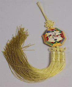 Norigae Korean Traditional Ornament for HANBOK 8GAK L Yellow | eBay