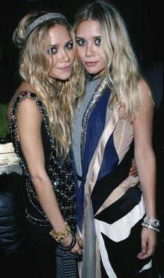 Mary-Kate and Ashley Olsen......