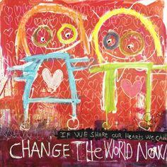 Art Print: Change the World Now by Poul Pava : Wood Resin, Resin Jewelry, Change The World, Find Art, Framed Artwork, Scandinavian, Art Prints, Illustration, Artist