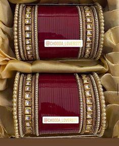Bridal Jewellery Inspiration, Indian Bridal Jewelry Sets, Bridal Bangles, Wedding Jewelry Sets, Bridal Accessories, Wedding Lehenga Designs, Bridal Chuda, Anklet Designs, Gold Bangles Design