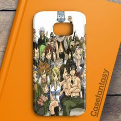 Fairy Tail Manga Collage Samsung Galaxy S6 Edge Case | casefantasy