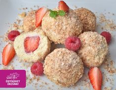 "A legfinomabb paleo ""túrógombóc"" (tejmentes, gluténmentes, cukormentes) Paleo, Vegan, Cake Recipes, Recipies, Muffin, Lunch, Healthy Recipes, Snacks, Meals"