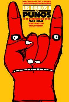 Los diablos a puños, 2001. Alejandro Magallanes