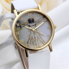 >> Click to Buy <<  Women Fashion Watches Retro Style Clock Dial Leather Band Quartz Analog Lady Girl Wrist Watches #Affiliate