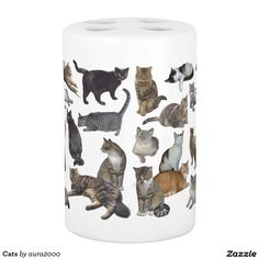 Cats Bathroom Set