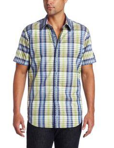 Robert Graham Men's Syon Sport Shirt, Green, X-Large