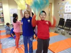 Juggling Scarves Unit - PYP PE with Andy