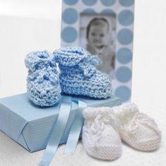 Free Baby Booties Crochet Pattern - Free Patterns - Books & Patterns