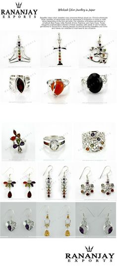 RANANJAY EXPORT Provide Wholesale silver jewelry, Handmade Silver jewelry, gemstone Silver jewelry, Sterling Silver jewelry, Silver jewelry Jaipur, India.