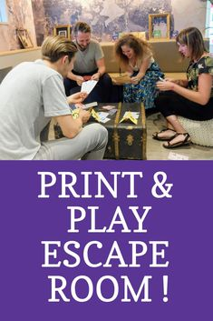 Print and play Escape room to do at home. Free Escape Room for funb with your family and friends. Real Escape Room, Escape Room Diy, Escape Room For Kids, Escape Room Puzzles, Kids Room, Escape Room Challenge, Spy Party, Mystery, Family Game Night