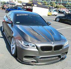 BMW F10 M5 grey
