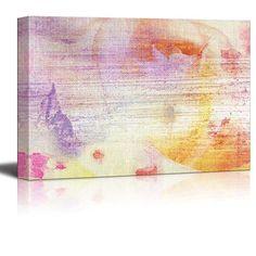 Abstract Canvas Art - Flower Composition with Watercolor ... https://www.amazon.com/dp/B01HRUV1SA/ref=cm_sw_r_pi_dp_x_GzZ6yb9R4DAW7