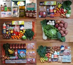 How Many Pounds of Fresh Produce, Meat, and Eggs Do I Eat Per Day? | Crafty Coin