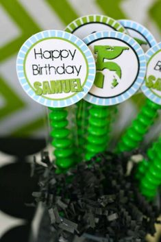 Boy Bike Party Birthday Party Ideas | Photo 9 of 18