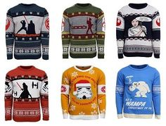 Ugly Star Wars Sweaters ... °°