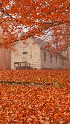 Autumn County Church, Mackinac County, Michigan, U.S