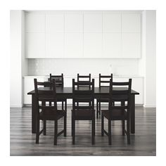 £540 IKEA KAUSTBY/STORNÄS table and 6 chairs