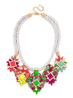 Jewelry - Neon Zenon Bib WAS $44 NOW $35 | Earn Cashback when you shop at BaubleBar.com! Sign up with DubLi for FREE at www.downrightdealz.net and GET PAID for all your online shopping!