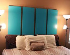 Closet door headboard closet doors doors and door headboards 34 diy headboard ideas eventshaper