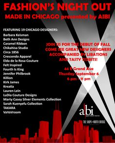 Made in #Chicago #Fashion Night 2012