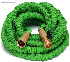 Flexible hose with brass connector with valve