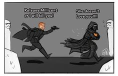 """nicca11y: """"General Hux and Millicent. Sorry for my bad English :) """" I like warmth ok nothing personal"""