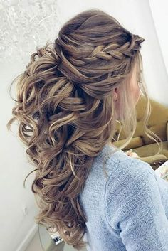 Awesome 44 Easy Formal Hairstyles For Long Hair More At Fashionfezt Awesome 44 Easy Formal Hairstyles For Long Hair More At Fashionfezt - elegant hairstyles for long hair elegant hairstyles with fringe Easy Wedding Guest Hairstyles, Formal Hairstyles For Long Hair, Short Wedding Hair, Elegant Hairstyles, Down Hairstyles, Easy Hairstyles, Bridal Hairstyles, Homecoming Hairstyles, Hairstyle Ideas