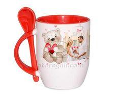 Tazza con Cucchiaino Sweet teddy bear