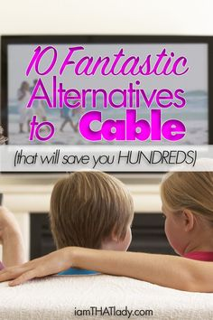 Are you sick of paying so much for your cable bill? Here are 10 amazing alternatives to cable that can help you reduce your bills by thousands per year! via /iatllauren/