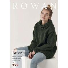 Rowan - Big Wool Knits - Brogan Jumper in Big Wool (downloadable PDF) Knitting Projects, Knitting Patterns, Big Wool, Roll Neck, Rowan, Knitting Needles, Making Ideas, Knits, Jumper