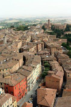 Siena, Toscane, Italië. www.tendi.nl/italie