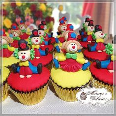 "#Cupcake para #Circo <span class=""emoji emoji1f412""></span><span class=""emoji emoji1f3a9""></span><span class=""emoji emoji1f3aa""></span><span class=""emoji emoji1f412""></span><span class=""emoji emoji1f3a9""></span><span class=""emoji emoji1f3aa""></span><span class=""emoji emoji1f412""></span><span class=""emoji emoji1f3a9""></span><span class=""emoji emoji1f3aa""></span> Acompanhem nossas ..."
