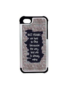 7f58aa9fbf8 Items similar to Best Friends iPhone case, Friend Quote iPhone 6/6s 6plus/6s  plus cases, Two in one phone case, sublimated iphone case, Samsung Galaxy  Case ...