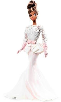 Mattel W3426 Barbie Collector Fashion Model Collection Evening Gown Doll #Mattel