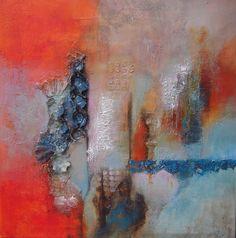 eierdozen verwerkt in schilderij